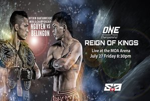Kevin Belingon: The fifth Filipino champ in ONE Championship?