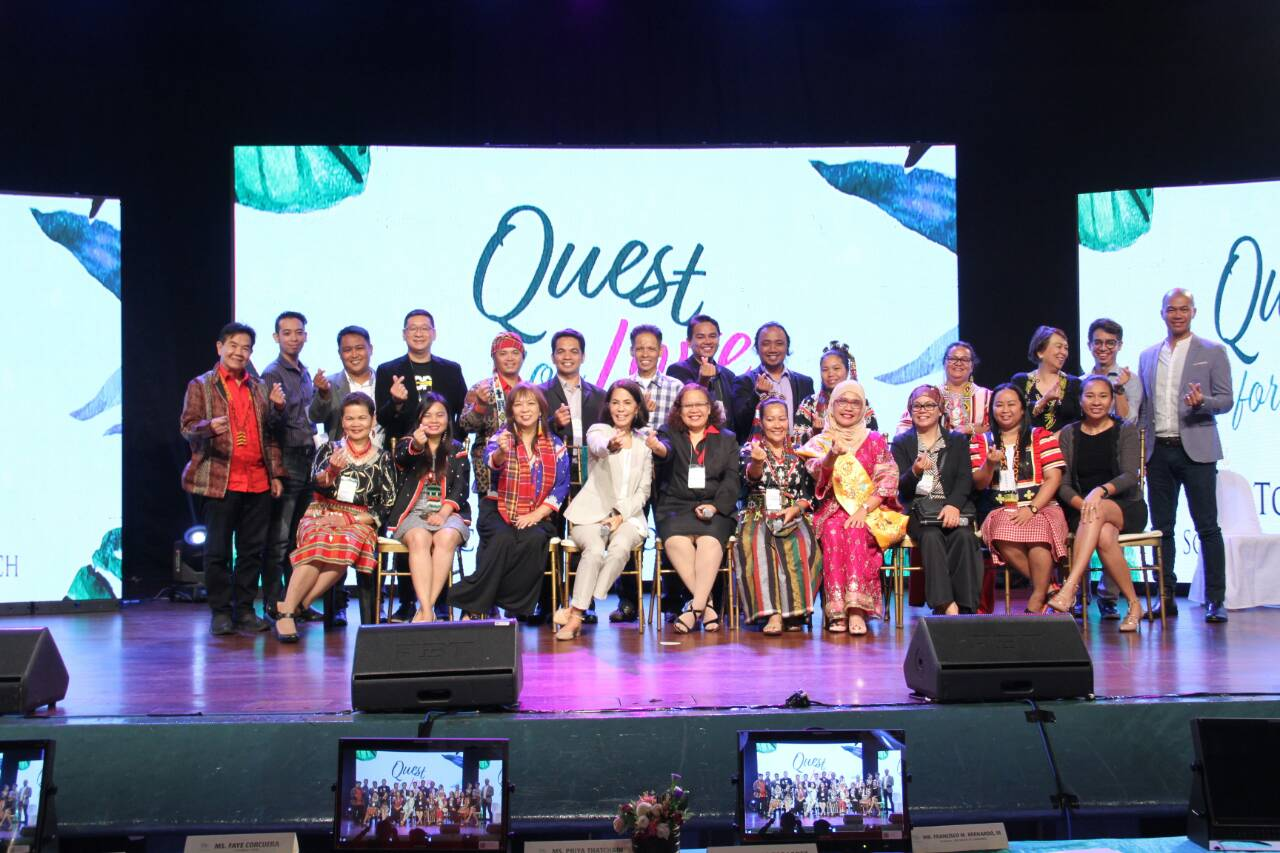 "Gina Lopez names 8 winners of ""The Quest for Love"""
