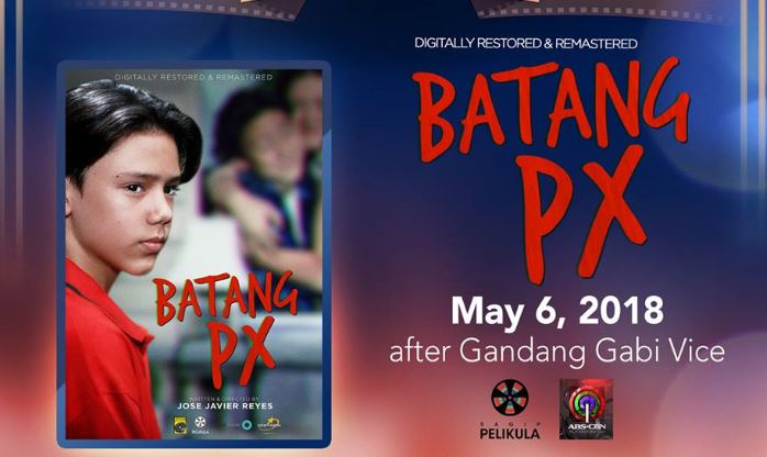 "Digitally restored and remastered ""Batang PX"" airs on ""Sunday's Best"""
