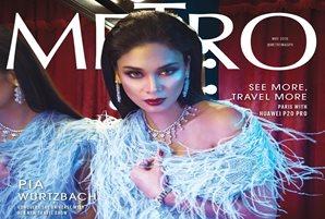 Pia takes the spotlight in Metro's anniversary issue
