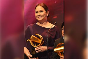 Charo Santos receives Icon Award At 2018 Eddys