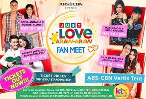 "Kapamilya love teams to bring cheers at the ""Just Love Araw-Araw Fan Meet"""