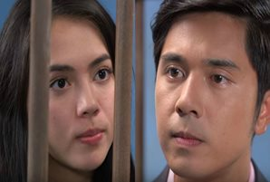 "Ex-lovers Julia and Paulo in an all-out clash in ""Asintado"""