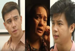 "Arjo, Yves risk their lives to save Sylvia in ""Hanggang Saan"""