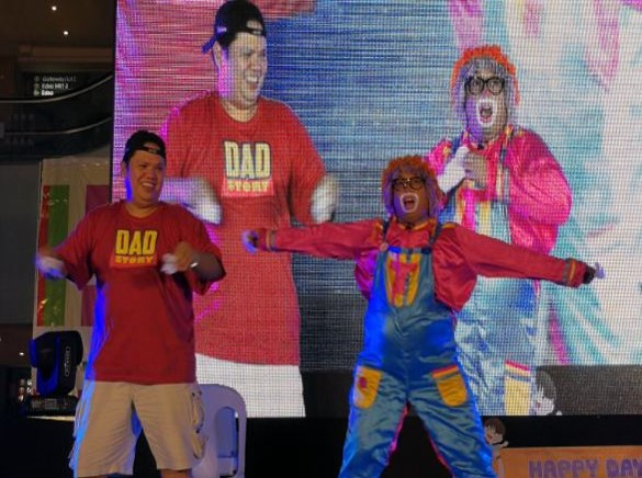 "Families come together in ABS-CBN's ""Ayos Ka Kid: Happy Day with Tatay"" fair"