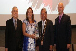 ANC's Annalisa Burgos wins SKAL Tourism Personality award