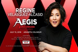 Regine Velasquez-Alcasid and TNT boys rock Araneta with Aegis