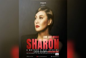 Sharon headlines fundraising concert this Mother's Day