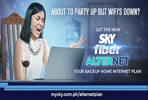 Never miss an important virtual celebration this 2021 with SKY Fiber AlterNet plan