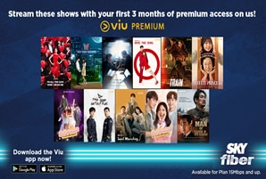 K-drama marathon made more delightful with SKY Fiber's latest VIU promo