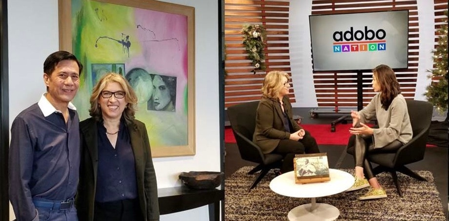 """The Kingmaker"" opens today in SF; director Lauren Greenfield visits TFC Studio for interviews with BA and Adobo Nation"