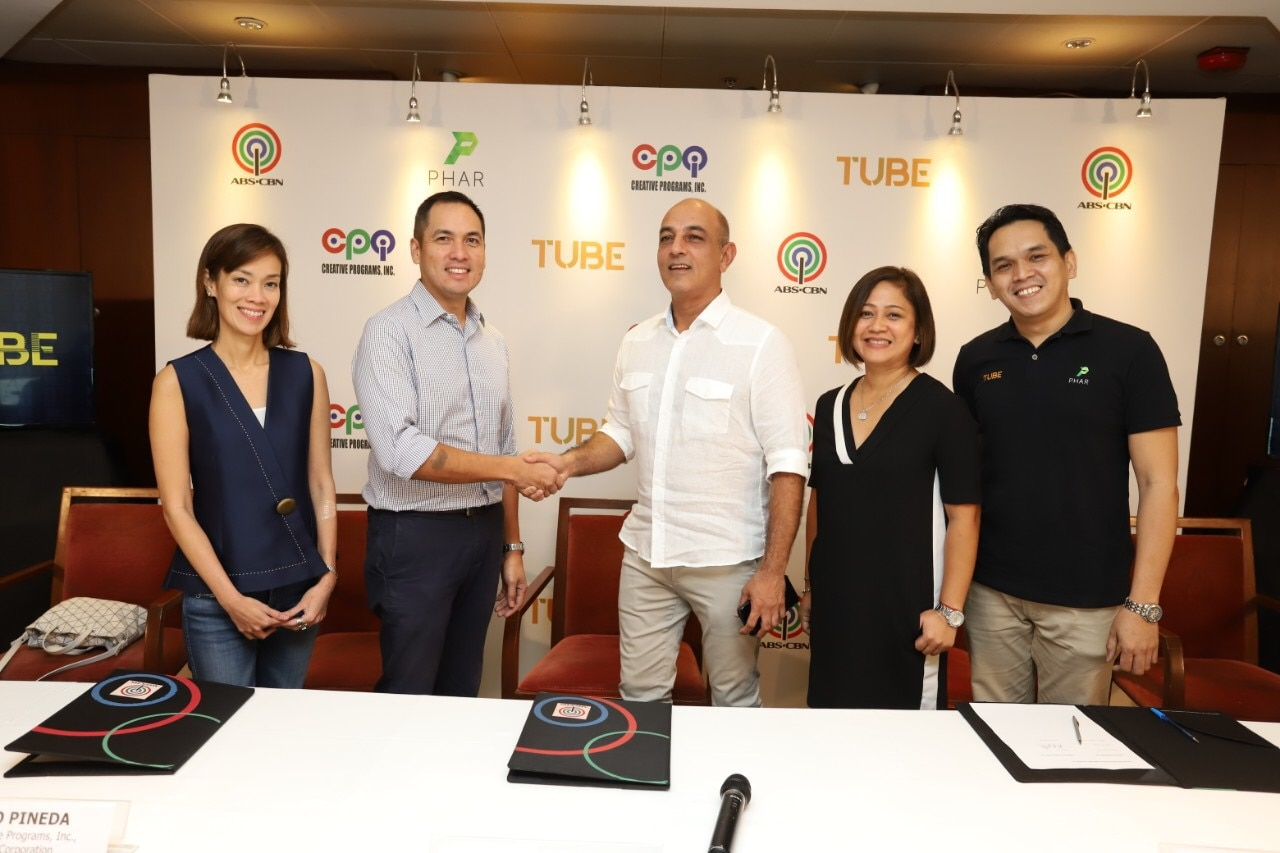 ABS-CBN content will soon be available to LRT and  MRT commuters via 'Tube'