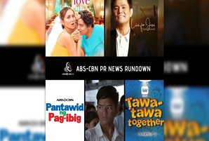 ABS-CBN's blockbuster films premier on China cable TV, Ogie collabs with Regine, couple Gary and Jaya for new worship song