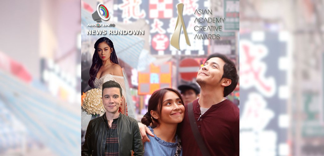 ABS-CBN PR News Rundown: ABS-CBN, nanguna para sa Pilipinas sa Asian Academy Creative Awards 2020