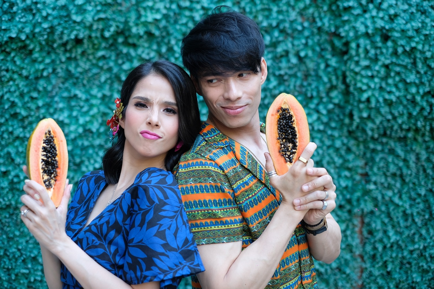 Robby Mananquil and Maxene Magalona