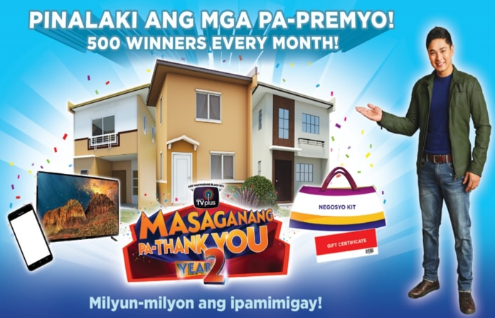 ABS-CBN TVplus, muling mamimigay ng house and lot