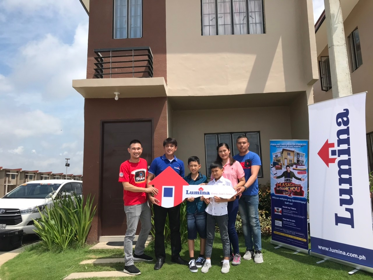 Fishball vendor wins house and lot from ABS-CBN TVplus