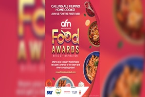 """Pinoy home cooks and foodies take the international spotlight in first """"AFN Food Awards"""""""