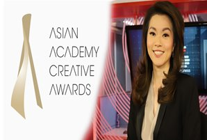 ANC's Cathy Yang honored as Best News Anchor at Asian Academy Creative Awards