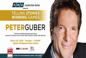 Mandalay Entertainment chairman and CEO and Golden State Warriors Executive Chairman And Co-Owner, Peter Guber, Is Coming To Manila