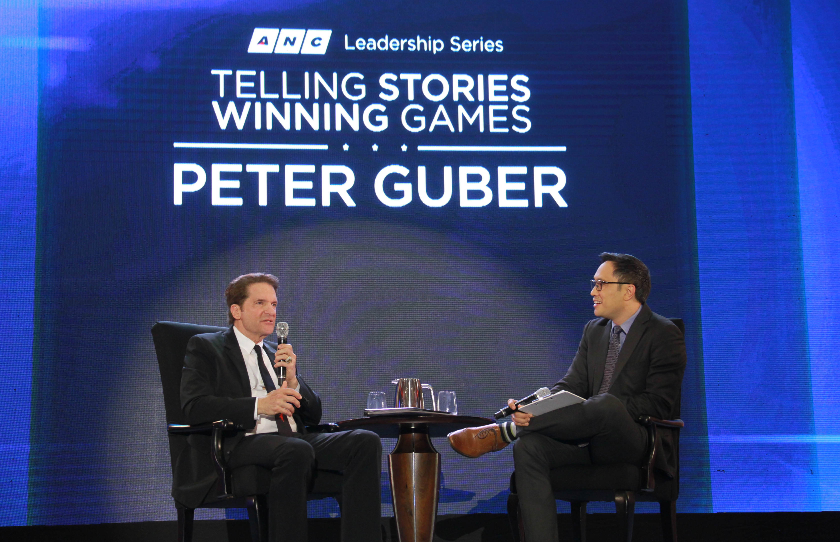 Peter Guber follows Madeleine Albright and Richard Branson as the featured speaker in the ANC Leadership Series