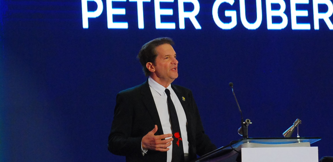 Peter Guber shares the power of storytelling at the ANC Leadership Series