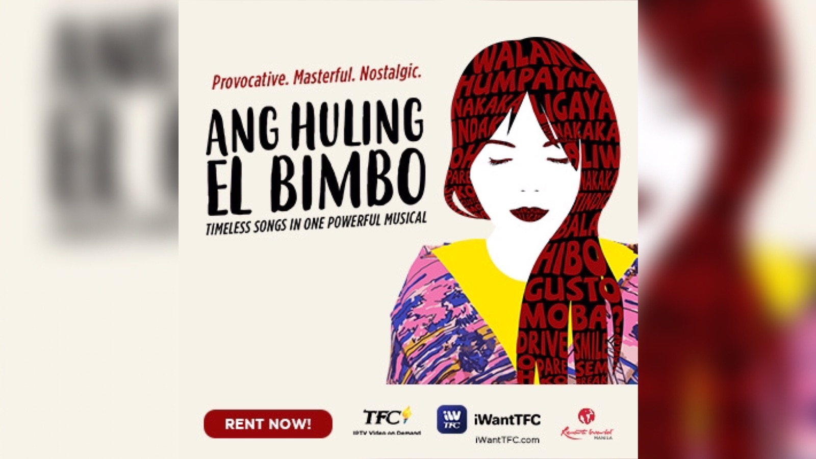 """Life in the rhythm of 90s OPM music in the nostalgic """"Ang Huling El Bimbo"""" musical, now available worldwide on TFC IPTV and iWantTFC"""