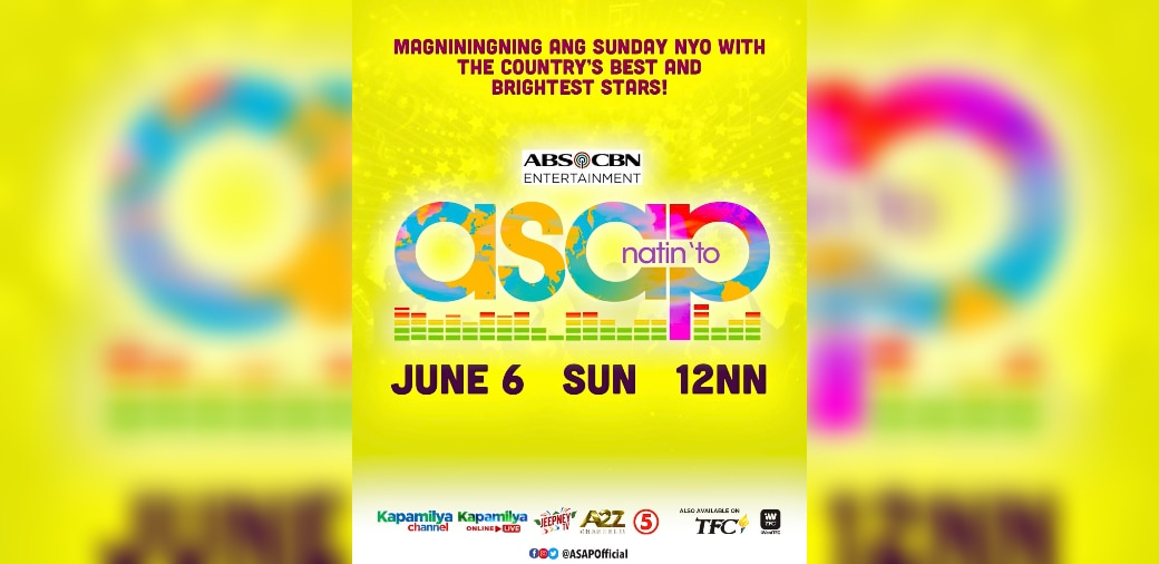 Party with the biggest stars this Sunday on 'ASAP Natin 'To'