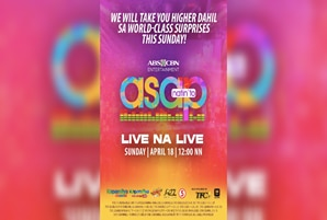 'ASAP Natin 'To' takes viewers higher with live concert performances this Sunday
