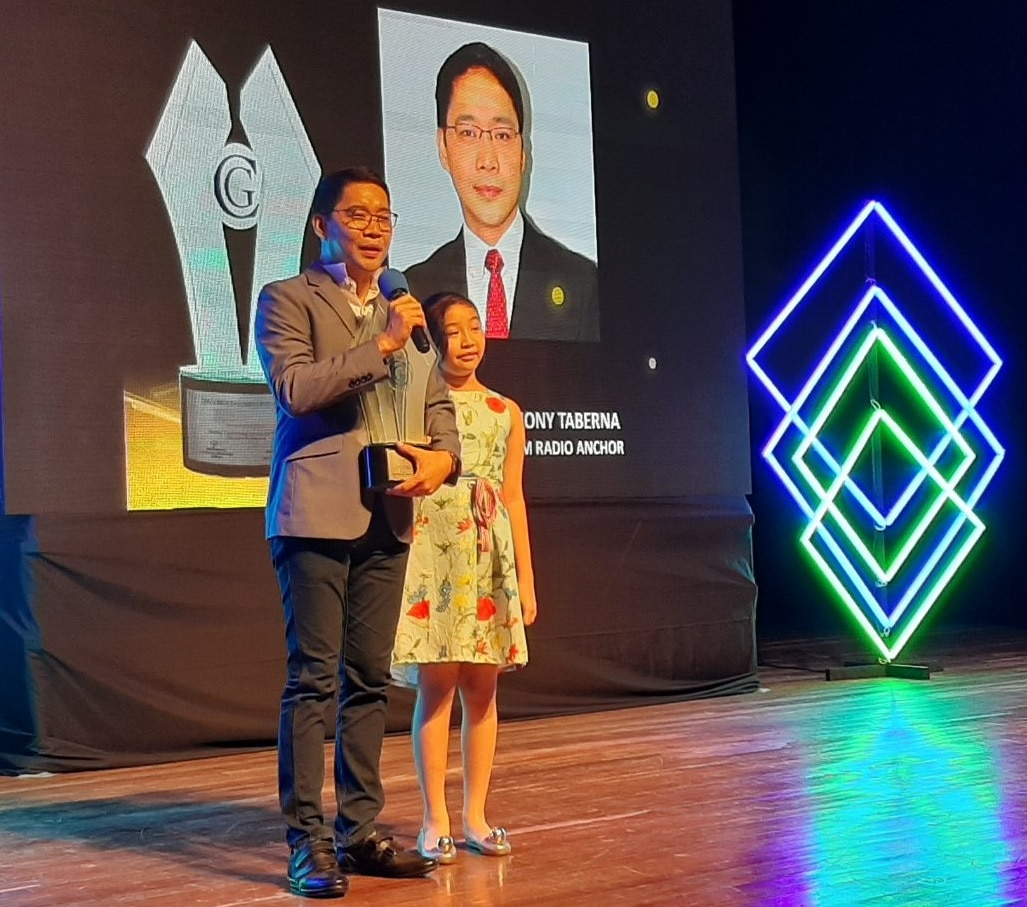 Anthony Taberna won Best AM Radio Anchor