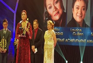 FAMAS bestows lifetime achievement award upon Charo Santos-Concio