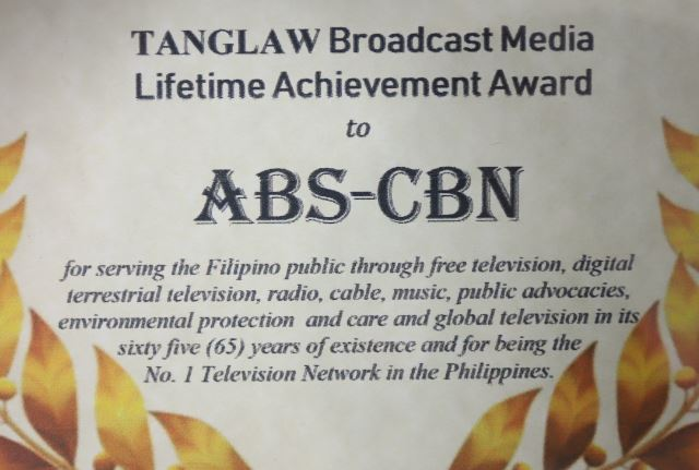 ABS CBN Lifetime Achievement Award_1