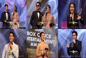 ABS-CBN dominates the 50th Guillermo Mendoza Box Office Awards