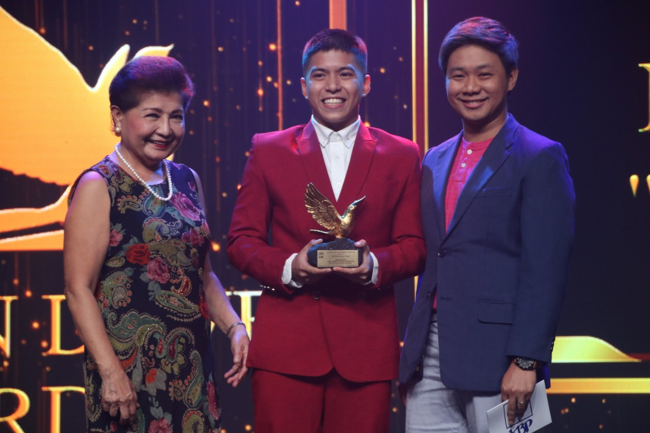 Nash Aguas was named Best TV Actor for Drama in the 27th Golden Dove Awards