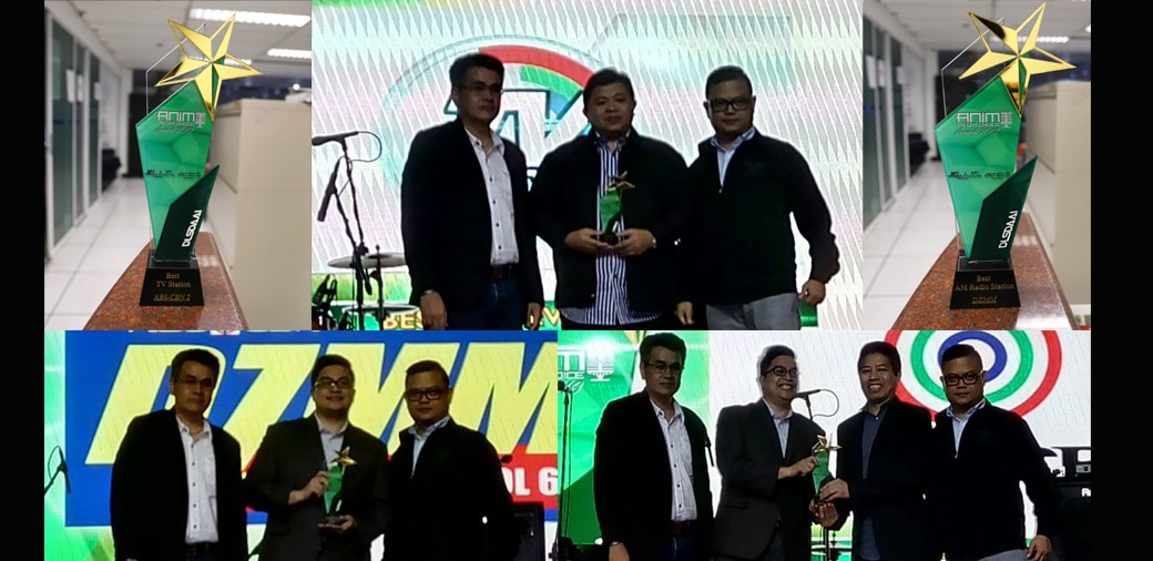 ABS-CBN bags Best TV Station, DZMM wins Best AM Radio Station in Animo Media Choice Awards