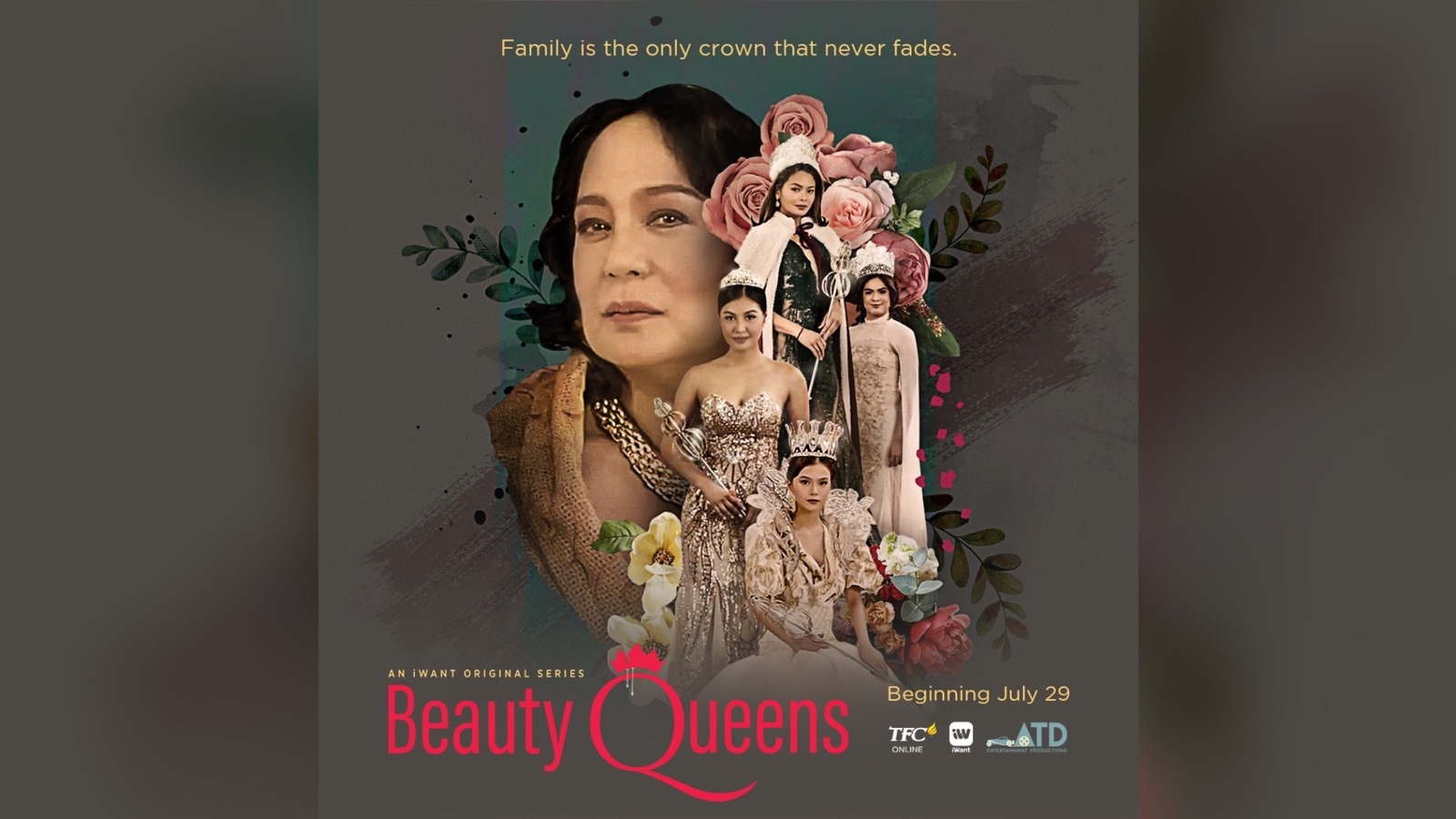 "Behind the beauty of a 'queen' in the iWant Originals series ""Beauty Queens"""
