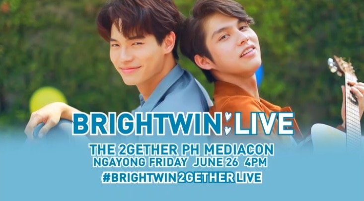 """""""2gether's"""" BrightWin holds free, live interview with Filipinos on Friday"""