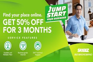 SKYBIZ offers SMEs reliable BIZbroadband plans at discounted rates