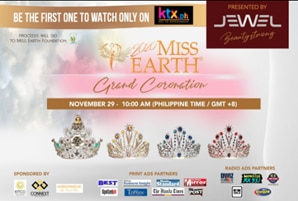 Miss Earth 2020 prelims and coronation night stream on KTX.PH