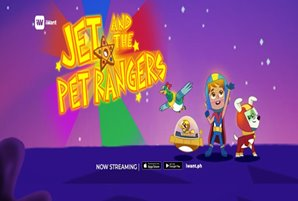 "iWant launches original Filipino animated series ""Jet and the Pet Rangers"""