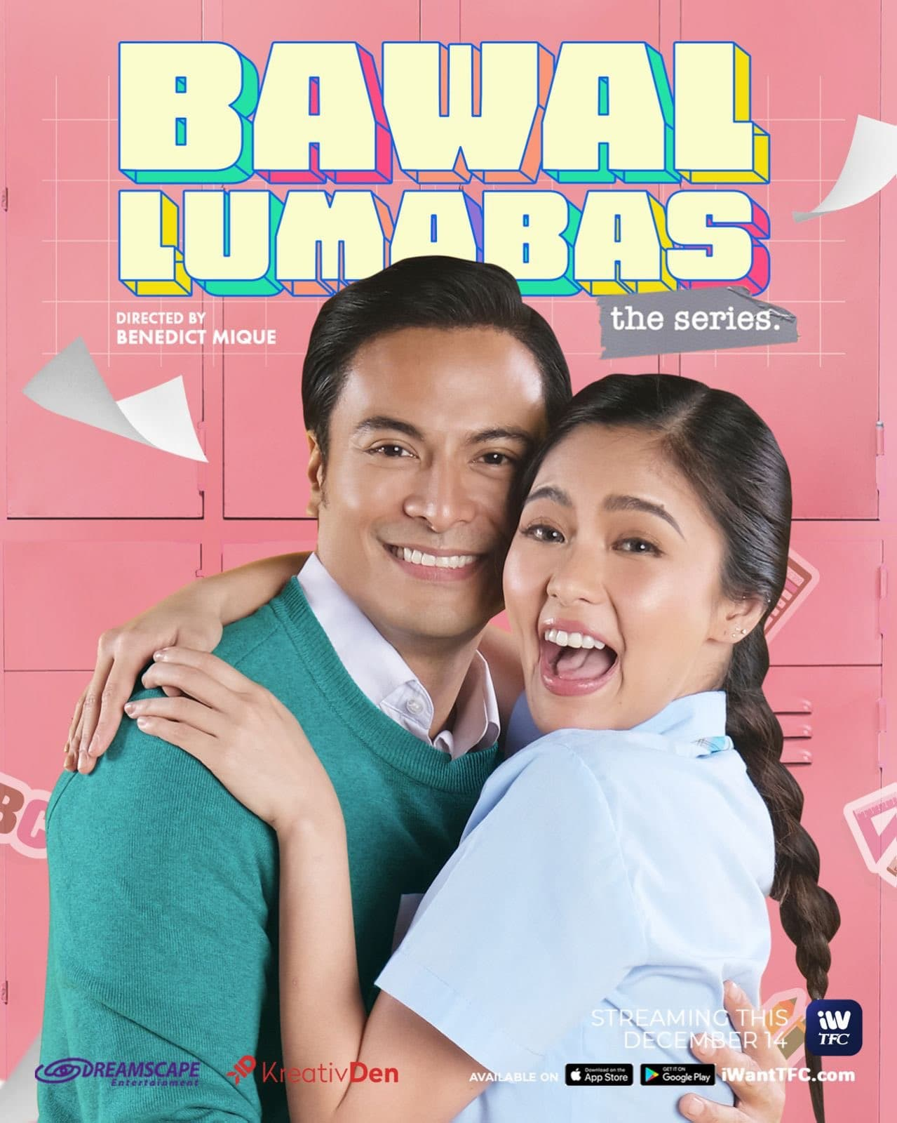 Rafael and Kim Bawal Lumabas The Series poster