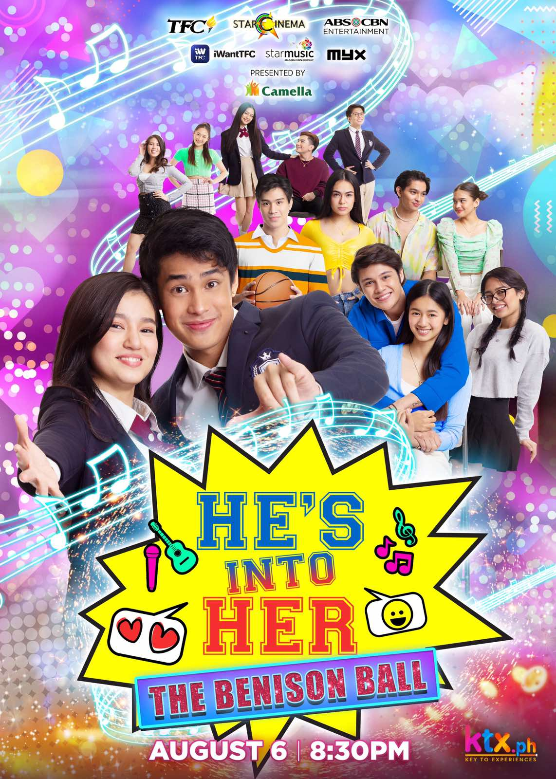VIP tickets for the 'He's Into Her' concert sold out