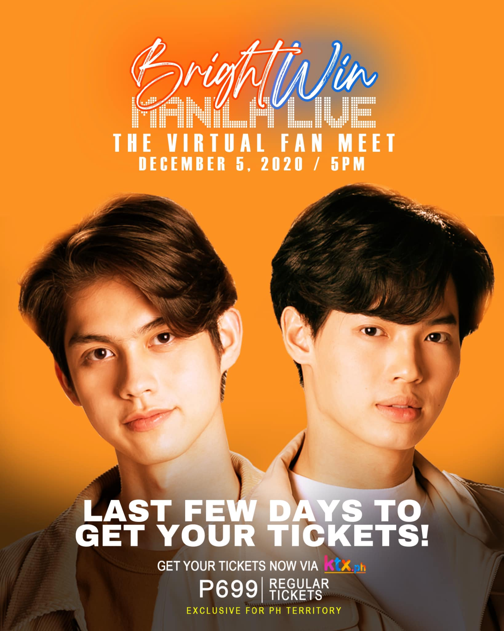 Get your tickets for the virtual fan meet on ktx ph