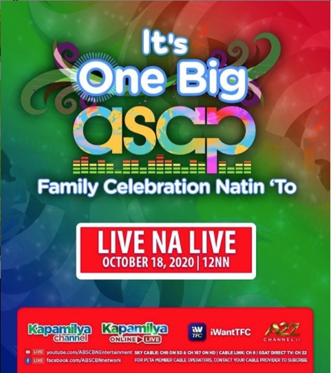 """""""Asap Natin To"""" gives viewers one big family celebration to remember this Sunday"""