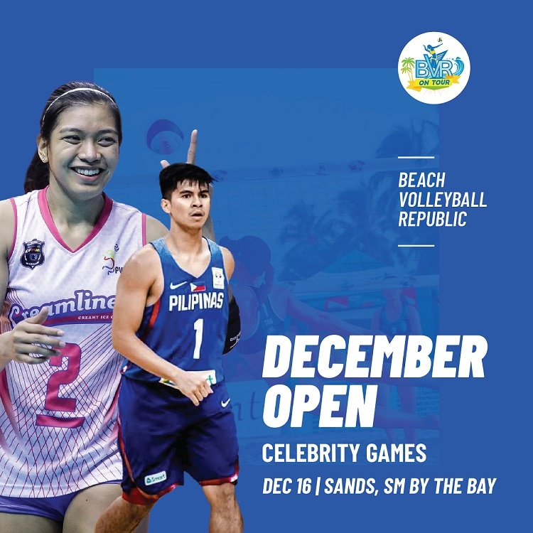 Catch the likes of Alyssa Valdez and Kiefer Ravena during the celebrity games of the BVR On Tour December Open 2018