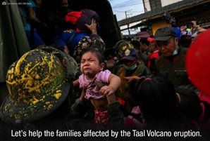 ABS-CBN appeals to overseas Filipinos, global communities for help for communities affected by Taal Volcano Eruption