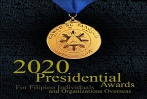 Global Filipino Community News: CFO Launches Search for Presidential Awards for Filipino Individuals and Organizations Overseas