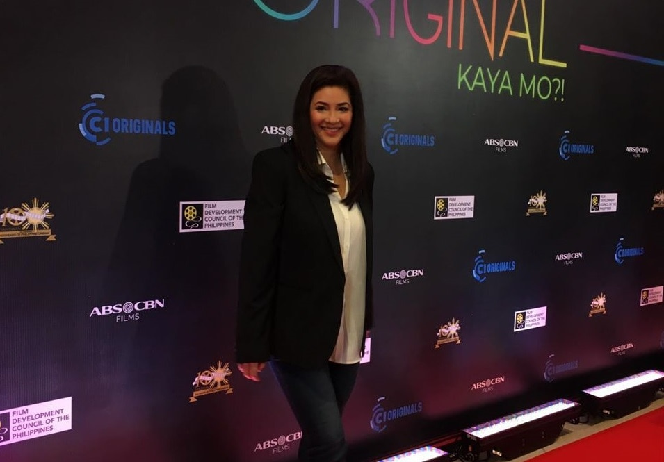 Yours Truly Shirley star Regine Velasquez at the C1 Originals 2019 opening night