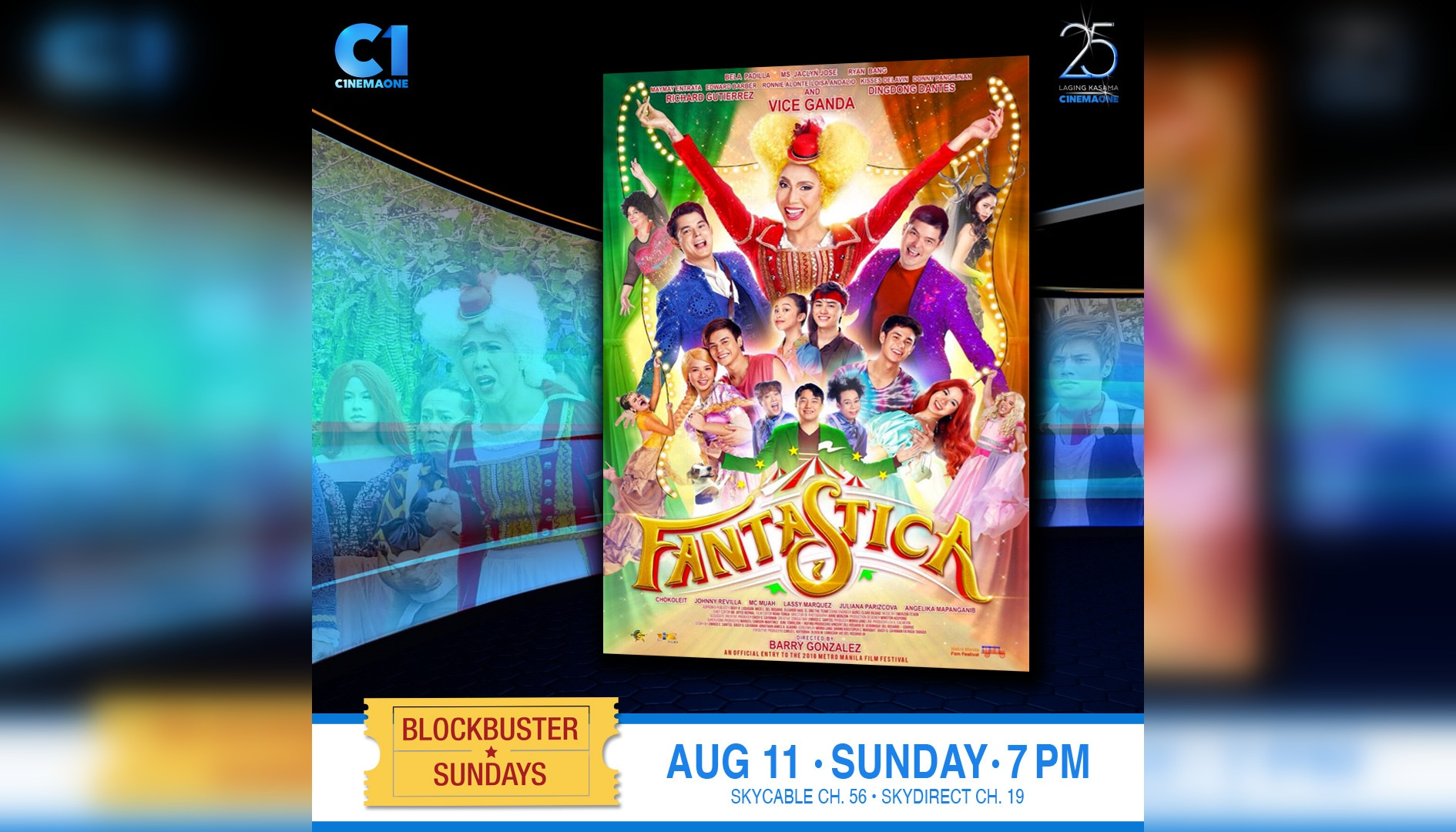 """Fantastica: The Prince, The Princess, and The Perya"" premieres on Cinema One this Sunday"
