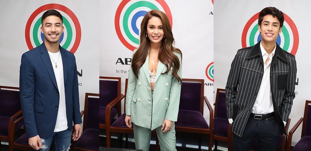 Ivana, Tony, and Donny ink contract with ABS-CBN